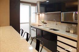 Cocinas de estilo moderno por Only Design de Interiores