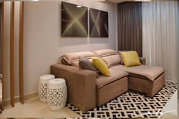 Salas multimedia de estilo moderno por Only Design de Interiores