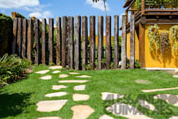 rustic Garden by SCALI & MENDES ARQUITETURA SUSTENTAVEL