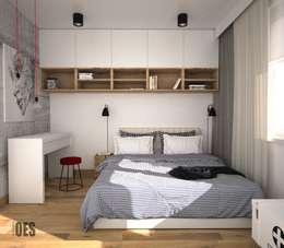 غرفة نوم تنفيذ OES architekci