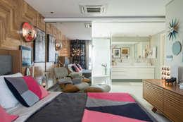 Dormitorios de estilo moderno por Rodrigo Maia Arquitetura + Design