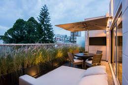 Terrazas de estilo  de Sobrado + Ugalde Arquitectos