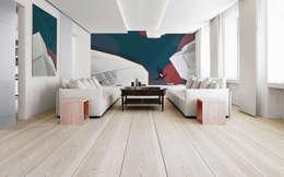Salas de estilo moderno por Pixers