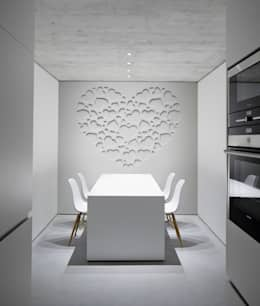 minimalistic Dining room by Pixers