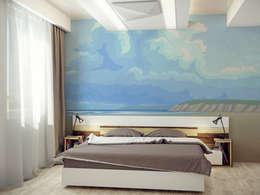 minimalistic Bedroom by Pixers