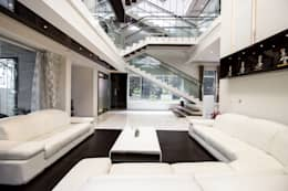 Contermporary Elegance: modern Living room by A360architects