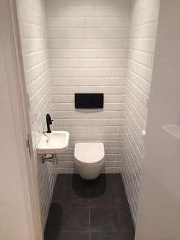 PRJCT #Sandy: moderne Badkamer door Victona