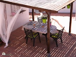 Terraços  por custom casa home staging