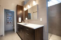 Master Bathroom Remodel: modern Bathroom by RedBird ReDesign