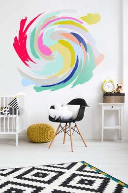 eclectic Nursery/kid's room by Pixers
