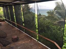 Balcones y terrazas de estilo  por GAVIOTA MEXICO
