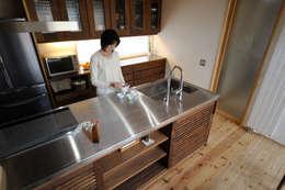 Kitchen by 藤松建築設計室