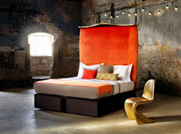 eclectic Bedroom by Savoir Beds