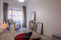 Projekty,  Salon zaprojektowane przez Flavia Case Felici