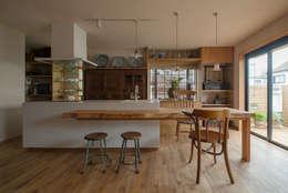 松戸市H邸: スタジオ・スペース・クラフトが手掛けたダイニングです。
