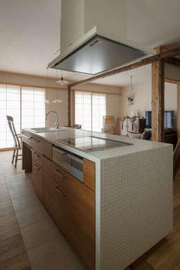 松戸市H邸: スタジオ・スペース・クラフトが手掛けたキッチンです。