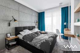 Спальни в . Автор – WMA Design