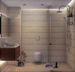 VERO CONCEPT MİMARLIK – Yunus Emre - Alsancak  Konut: modern tarz Banyo