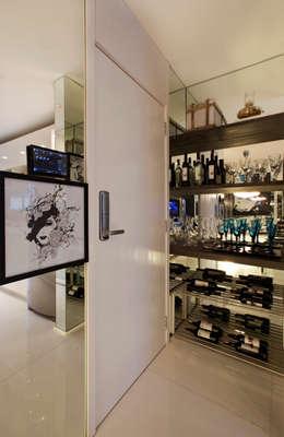 modern Wine cellar by Chris Silveira & Arquitetos Associados