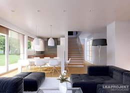 غرفة المعيشة تنفيذ LK&Projekt GmbH