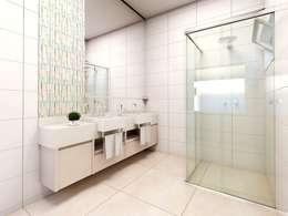 minimalistic Bathroom by canatelli arquitetura e design