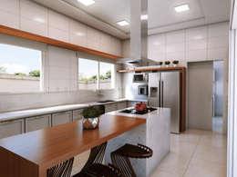 modern Kitchen by canatelli arquitetura e design