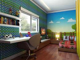 country Nursery/kid's room by canatelli arquitetura e design