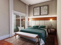 modern Bedroom by canatelli arquitetura e design