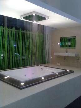 Gallery / Work in Progress: modern Bathroom by DRIFTWOOD INTERIORS & EXTERIORS
