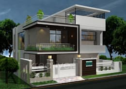 modern Houses by KREATIVE HOUSE