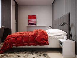 EVGENY BELYAEV DESIGN: iskandinav tarz tarz Yatak Odası