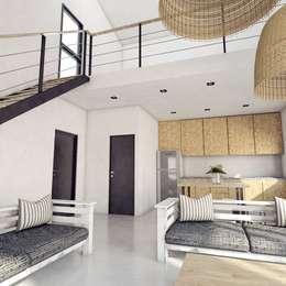 Phòng khách by FILIPPIS/DIP - DISEÑO Y CONSTRUCCION