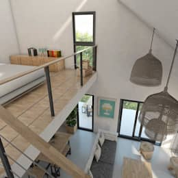 Ruang Keluarga by FILIPPIS/DIP - DISEÑO Y CONSTRUCCION