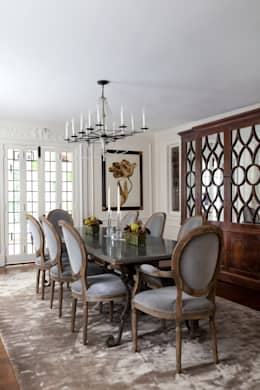 Haverford : classic Dining room by Mel McDaniel Design