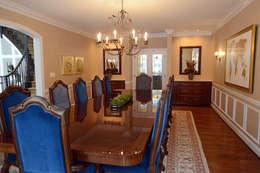 Villanova : classic Dining room by Mel McDaniel Design