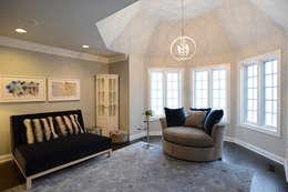 غرفة نوم تنفيذ Mel McDaniel Design