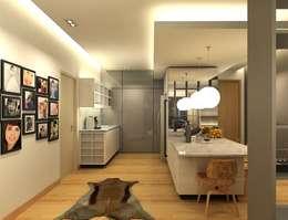 inDfinity Design (M) SDN BHD: modern tarz Yemek Odası