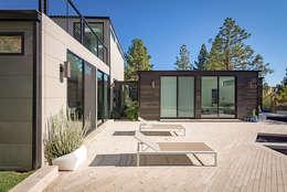 Casas de estilo moderno por Construcciones F. Rivaz