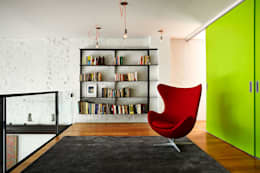Salt + Pepper House: modern Study/office by KUBE Architecture