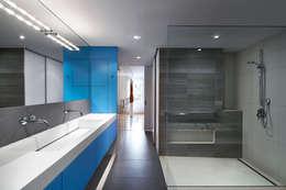 Salt + Pepper House: modern Bathroom by KUBE Architecture