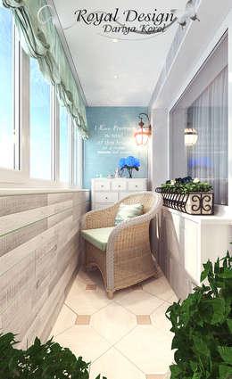 Балкон в стиле Прованс: Tерраса в . Автор – Your royal design