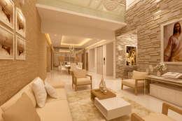 LIVING AREA:   by De Panache  - Interior Architects