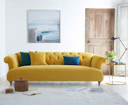 Dixie sofa: modern Living room by Loaf