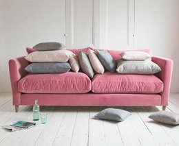 modern Living room تنفيذ Loaf