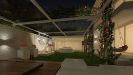 LANDSCAPE AREA VIEW: classic Garden by De Panache  - Interior Architects