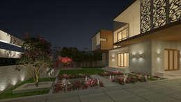LANDSCAPE AREA VIEW: modern Houses by De Panache  - Interior Architects