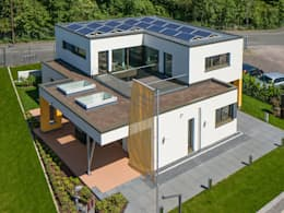 บ้านและที่อยู่อาศัย by Büdenbender Hausbau GmbH