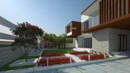 LANDSCAPE VIEW: modern Garden by De Panache  - Interior Architects