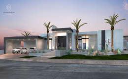Casas de estilo moderno por Elias Braun Architecture