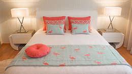 Dormitorios de estilo moderno por GRAÇA Decoração de Interiores